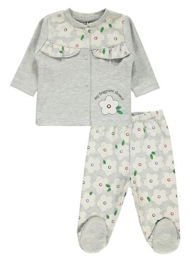Kujju Pijama Takım Gri